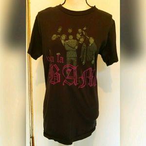 MTV Viva La Bam Cast T Shirt Black Purple 2006